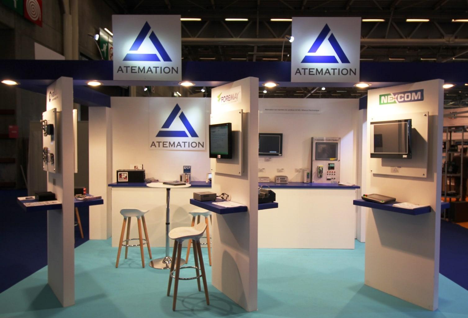 Atemation exposant au salon embedded systems 2017 for Salon industrie paris 2017