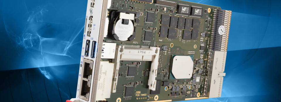 PC6-TANGO : Carte CPU CompactPCI® PlusIO